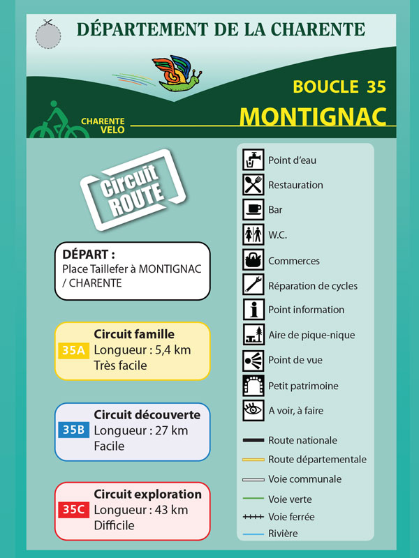 Montignac-Charente-boucle-cyclable
