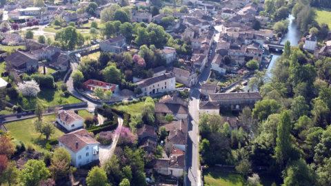 Montignac-Charente-vue-aerienne