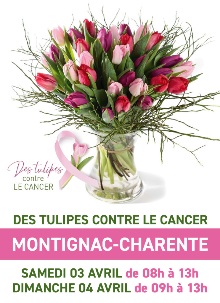 MONTIGNAC - TULIPES CONTRE LE CANCER